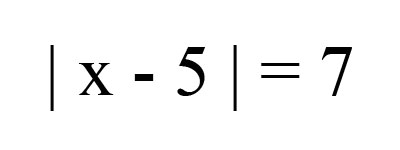 Solving Absolute ValueEquations