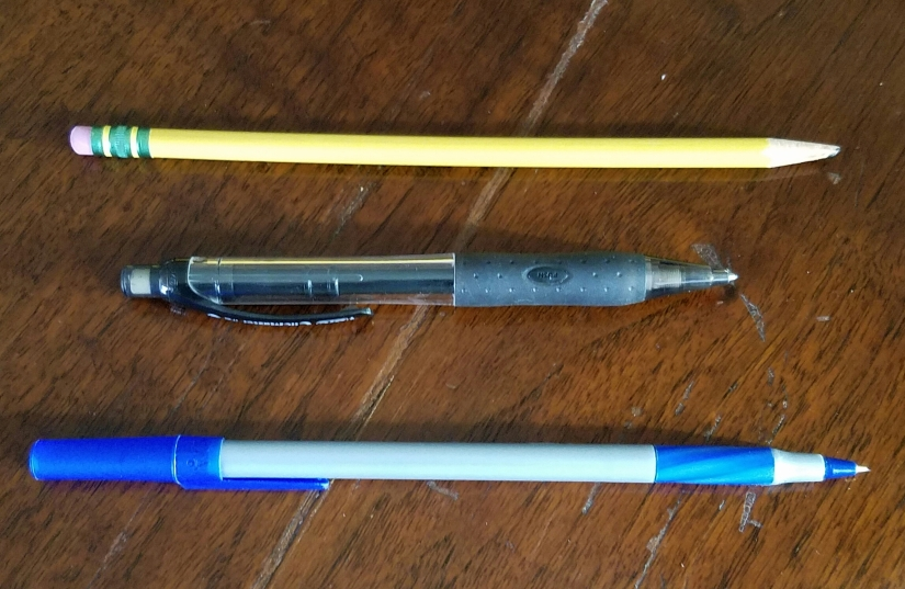 Math: Pen vs Pencil